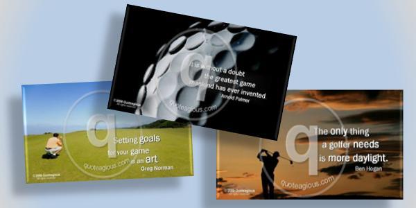 Quoteagious Golf Theme