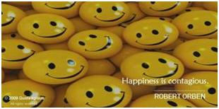 Quoteagious Happiness is Contagious